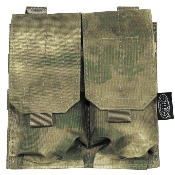 MFH Double M4/M16 Magazine Pouch HDT Camo FG