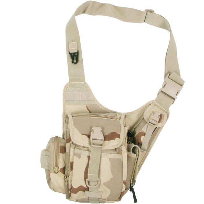 MFH Combat Shoulder Bag 3-Colour Desert