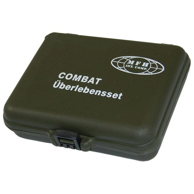 MFH Combat Survival Kit (Plastic Case)