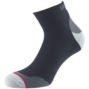1000 Mile Fusion Anklet Sock Black