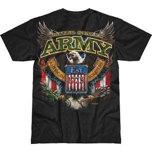 7.62 Design Army Fighting Eagle Battlespace T-Shirt Black