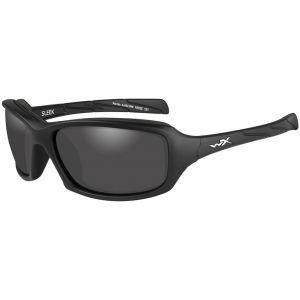 Wiley X WX Sleek Glasses - Smoke Grey Lens / Matte Black Frame