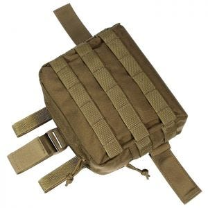Flyye Drop Leg Accessories Pouch MOLLE Coyote Brown