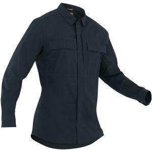 First Tactical Men's Tactix Long Sleeve BDU Shirt Midnight Navy