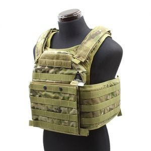 Flyye FAPC GEN 2 with Additional Mobile Plate Carrier MultiCam