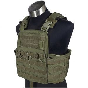Flyye Field Compact Plate Carrier Ranger Green