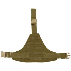 Flyye Triangular Leg Panel MOLLE Coyote Brown