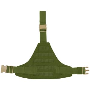 Flyye Triangular Leg Panel MOLLE Olive Drab
