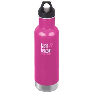 Klean Kanteen 592ml Classic Insulated Bottle Loop Cap Wild Orchid