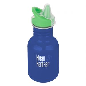 Kid Kanteen 355ml Bottle with Sippy Cap Coastal Waters