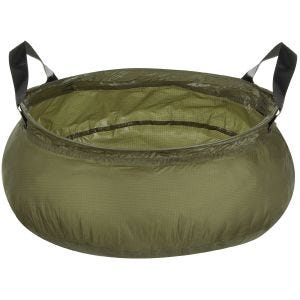 MFH Folding Bowl with Bag OD Green