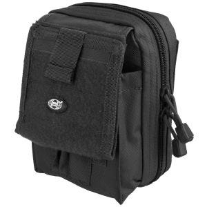 MFH Map Case MOLLE Black