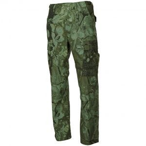 MFH BDU Combat Trousers Ripstop Hunter Green