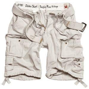 Surplus Division Shorts White