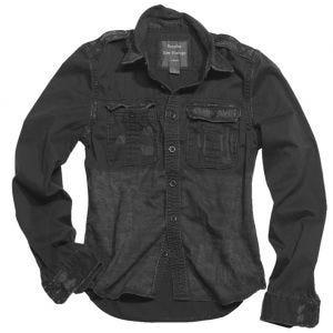 Surplus Raw Vintage Long Sleeve Shirt Black