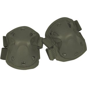 Viper Elbow Pads Hard Shell Green