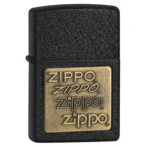 Zippo Brass Emblem Lighter
