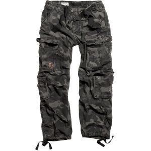 Surplus Airborne Vintage Trousers Black Camo