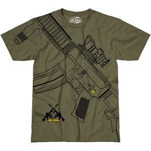 7.62 Design Get Some T-Shirt Military Green