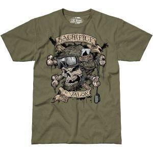 7.62 Design Sacrifice & Valor T-Shirt Military Green