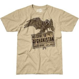 7.62 Design Welcome To Afghanistan T-Shirt Sand