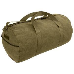 Highlander Crieff Canvas Roll Bag 45L Olive