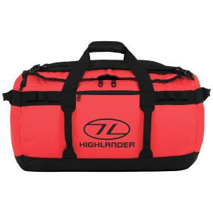 Highlander Storm Kitbag 65L Red