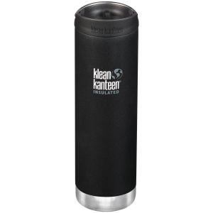 Klean Kanteen TKWide 591ml Insulated Bottle Cafe Cap Shale Black