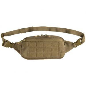 Mil-Tec Fanny Pack MOLLE Dark Coyote