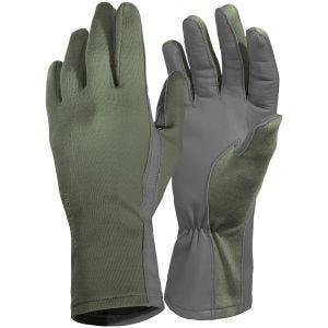 Pentagon Long Cuff Pilot Gloves Olive