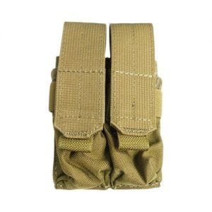 Flyye Double 9mm Magazine Pouch Ver. FE MOLLE Khaki