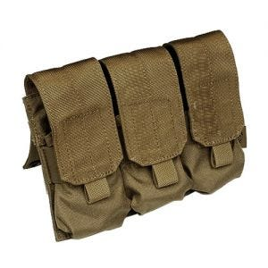 Flyye Triple M4/M16 Magazine Pouch MOLLE Coyote Brown