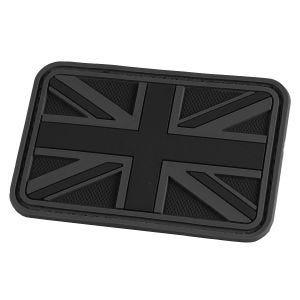 Hazard 4 3D Union Jack UK Flag Morale Patch Black