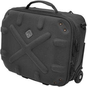 Hazard 4 Airstrike Tech Airline Rolling Carry-on Black