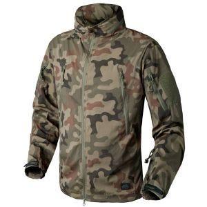 Helikon Trooper Soft Shell Jacket Polish Woodland