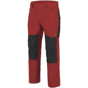 Helikon Woodsman Trousers Crimson Sky / Black
