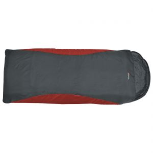 Highlander Voyager Super Lite XL Sleeping Bag Scarlet / Gunmetal
