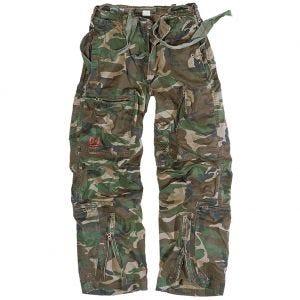 Surplus Infantry Cargo Trousers Woodland