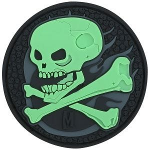Maxpedition Skull (Glow) Morale Patch