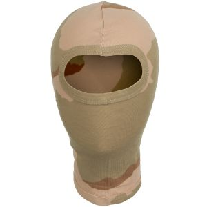 MFH 1 Hole Balaclava Lightweight Cotton 3-Colour Desert