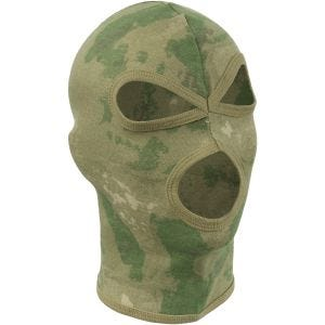 MFH 3 Hole Balaclava Lightweight Cotton HDT Camo FG
