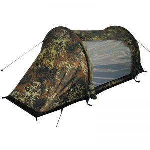"""MFH Tent """"Arber"""" with Aluminium Frame Flecktarn"""