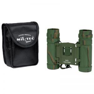 Mil-Tec Foldable Binocular 8x21 Camo