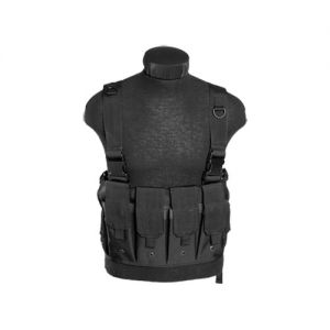 Mil-Tec Mag Carrier Chest Rig Black