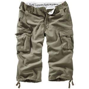 Surplus Trooper Legend 3/4 Shorts Olive Washed