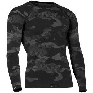 Tervel Optiline Tactical Shirt Long Sleeve Black / Grey