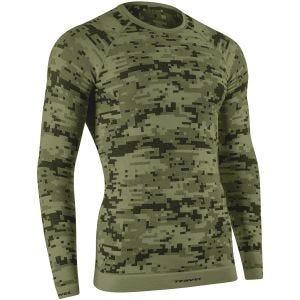 Tervel Optiline Digital Shirt Long Sleeve Military / Grey