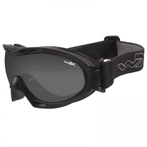 Wiley X Nerve Goggles - Smoke Grey + Clear Lens / Matte Black Frame