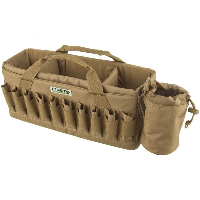 c4165552148c0 First Tactical Recoil Range Bag Coyote