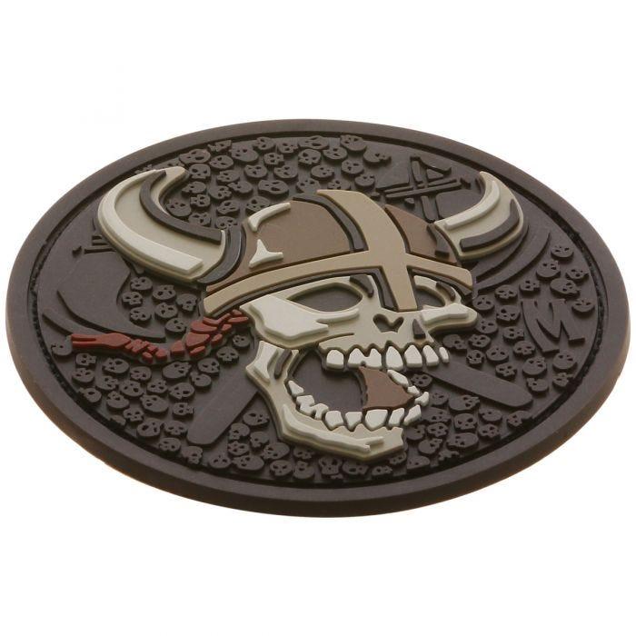 Maxpedition Viking Skull (Arid) Morale Patch